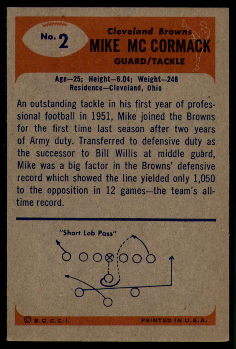 1955-Bowman-Football-1-70-Complete-your-set-Pick-your-card thumbnail 7