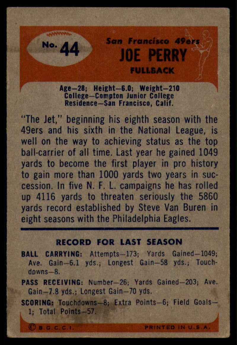 1955-Bowman-Football-1-70-Complete-your-set-Pick-your-card thumbnail 217