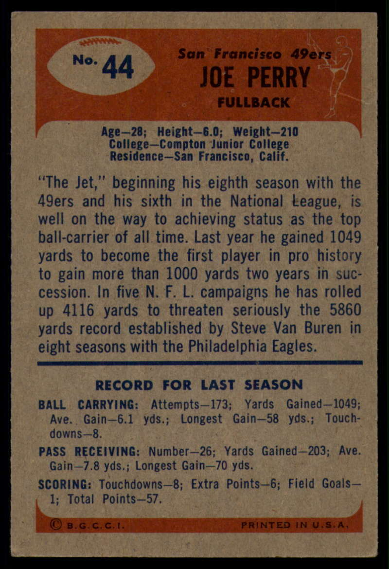1955-Bowman-Football-1-70-Complete-your-set-Pick-your-card thumbnail 219