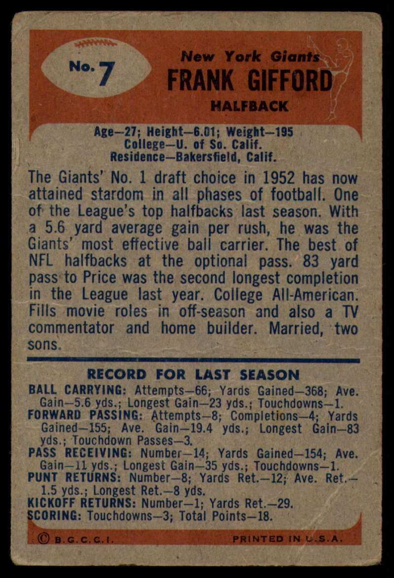 1955-Bowman-Football-1-70-Complete-your-set-Pick-your-card thumbnail 35