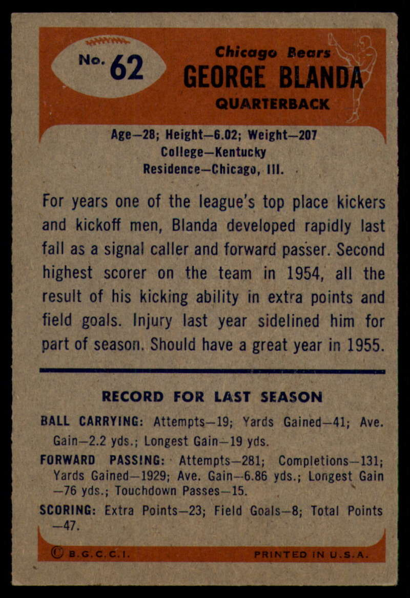 1955-Bowman-Football-1-70-Complete-your-set-Pick-your-card thumbnail 335