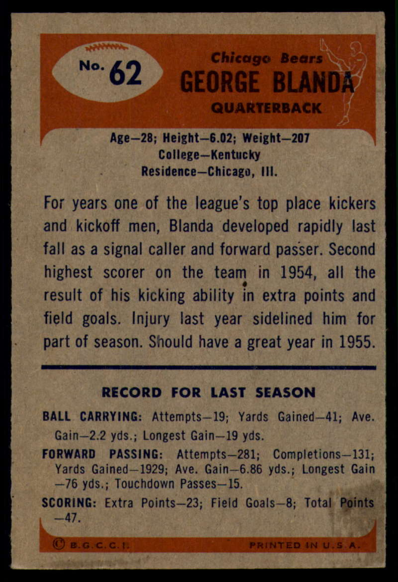 1955-Bowman-Football-1-70-Complete-your-set-Pick-your-card thumbnail 337