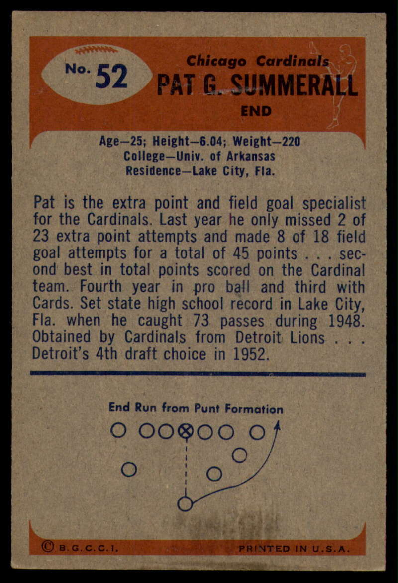 1955-Bowman-Football-1-70-Complete-your-set-Pick-your-card thumbnail 271