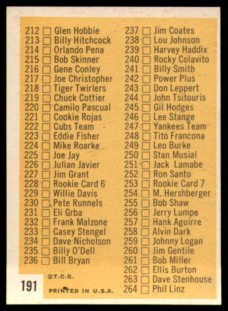 1963-Topps-Baseball-186-220-complete-your-set-you-pick-the-card