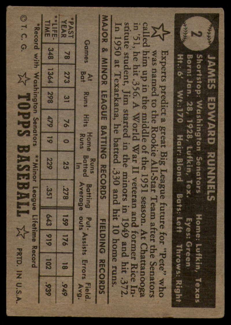 1952-Topps-Baseball-Black-Back-1-45-Complete-your-set-Pick-your-card thumbnail 9