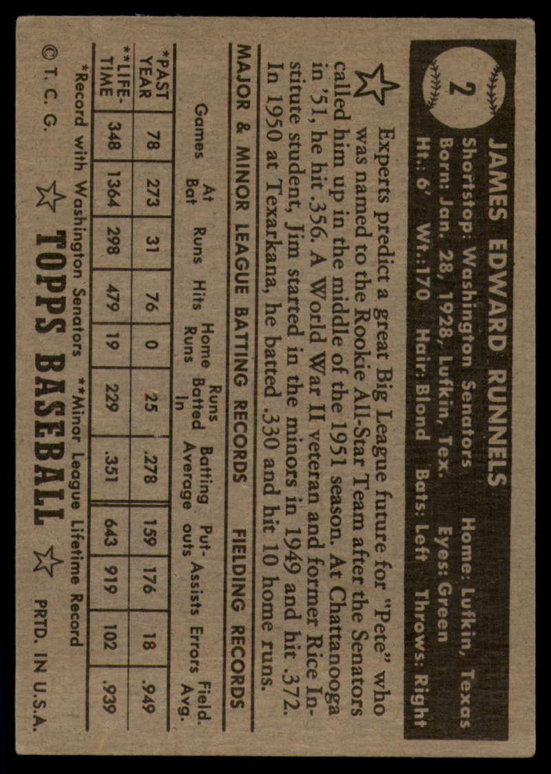 1952-Topps-Baseball-Black-Back-1-45-Complete-your-set-Pick-your-card thumbnail 11