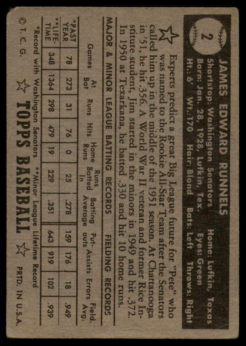 1952-Topps-Baseball-Black-Back-1-45-Complete-your-set-Pick-your-card thumbnail 13