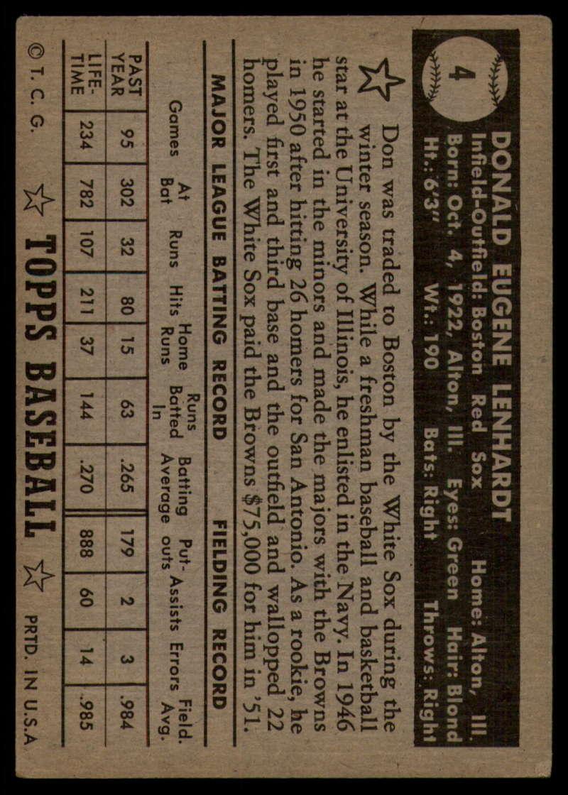 1952-Topps-Baseball-Black-Back-1-45-Complete-your-set-Pick-your-card thumbnail 23