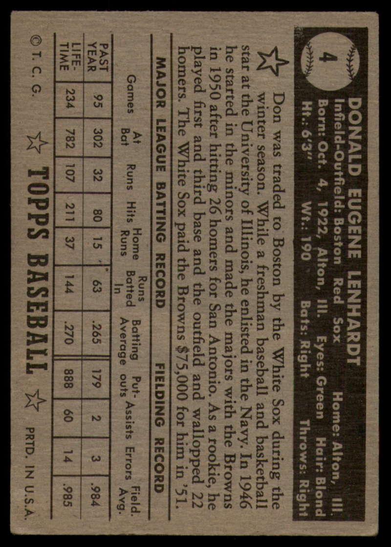 1952-Topps-Baseball-Black-Back-1-45-Complete-your-set-Pick-your-card thumbnail 25