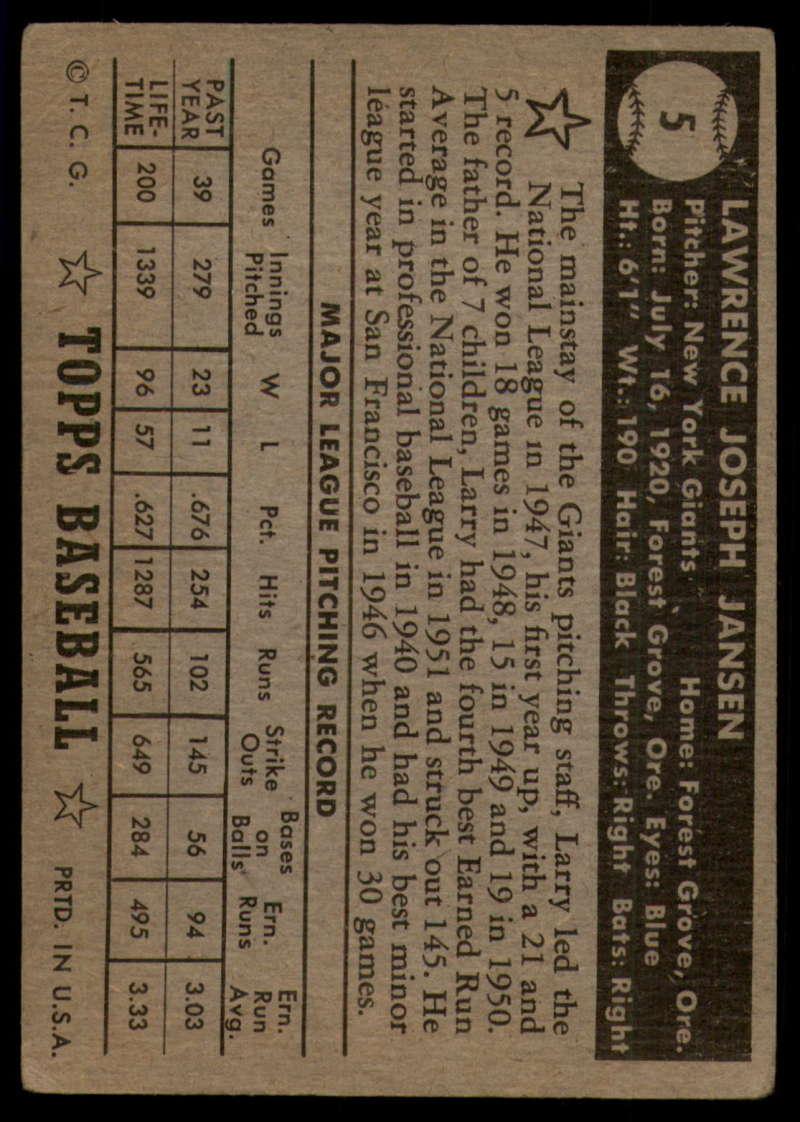 1952-Topps-Baseball-Black-Back-1-45-Complete-your-set-Pick-your-card thumbnail 33
