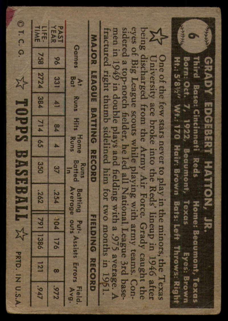1952-Topps-Baseball-Black-Back-1-45-Complete-your-set-Pick-your-card thumbnail 43