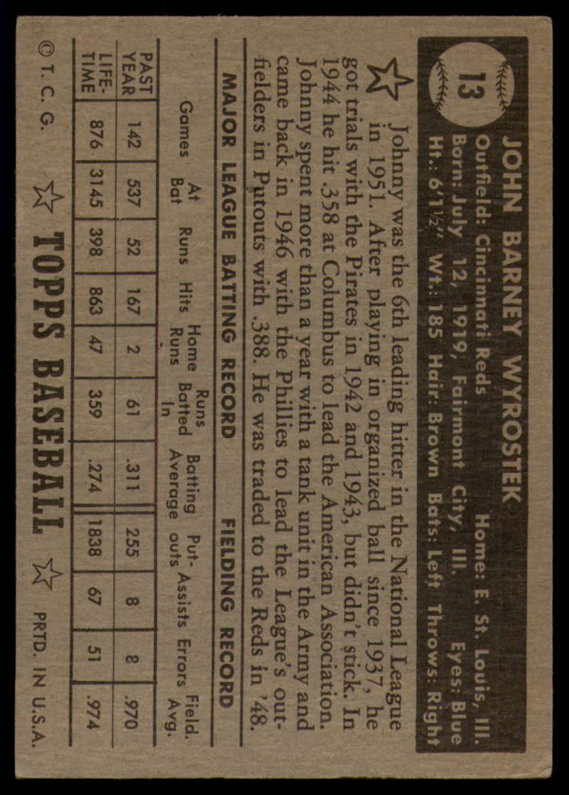1952-Topps-Baseball-Black-Back-1-45-Complete-your-set-Pick-your-card thumbnail 55