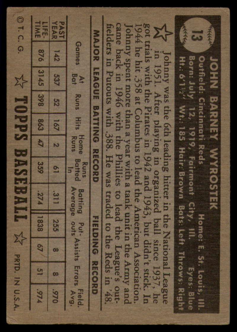 1952-Topps-Baseball-Black-Back-1-45-Complete-your-set-Pick-your-card thumbnail 57