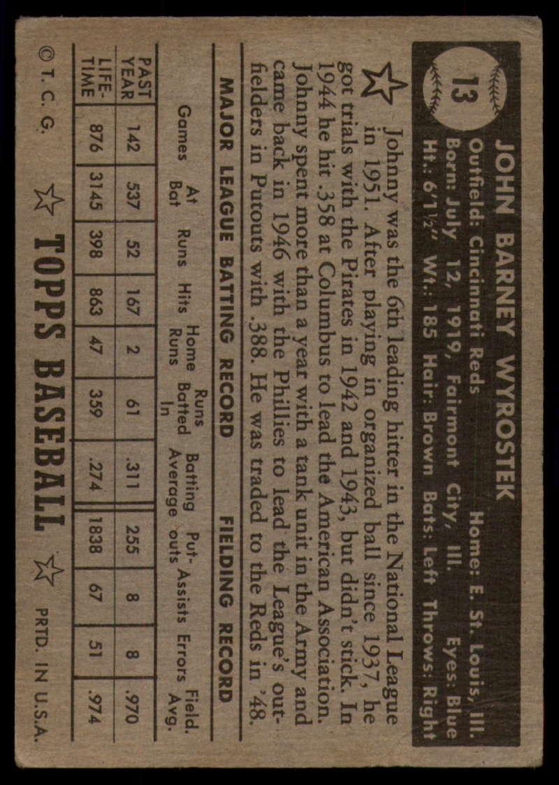 1952-Topps-Baseball-Black-Back-1-45-Complete-your-set-Pick-your-card thumbnail 61