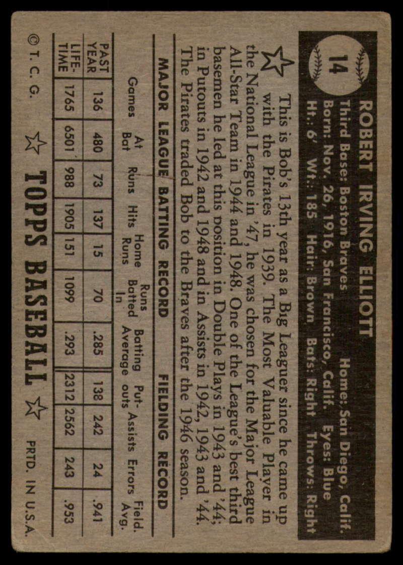1952-Topps-Baseball-Black-Back-1-45-Complete-your-set-Pick-your-card thumbnail 65
