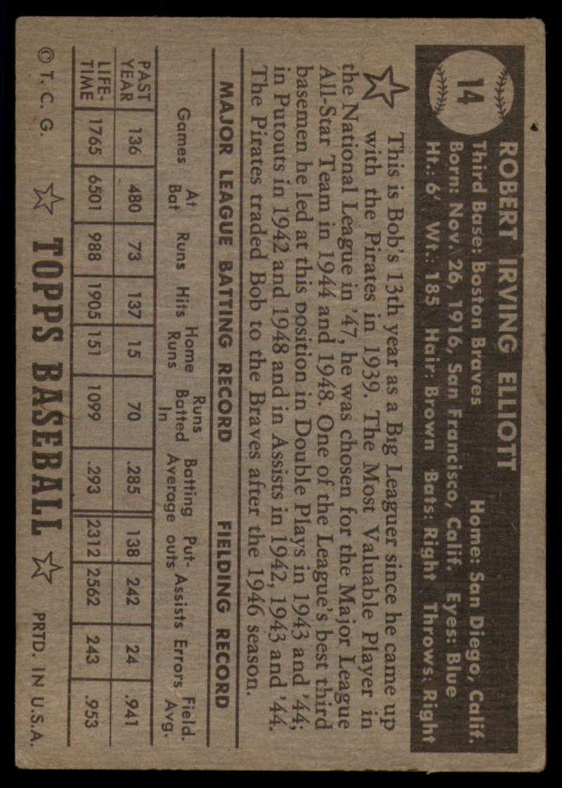 1952-Topps-Baseball-Black-Back-1-45-Complete-your-set-Pick-your-card thumbnail 67