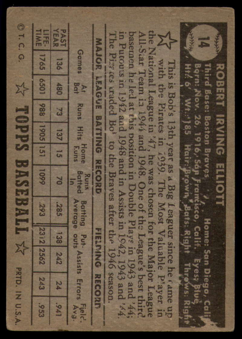 1952-Topps-Baseball-Black-Back-1-45-Complete-your-set-Pick-your-card thumbnail 69