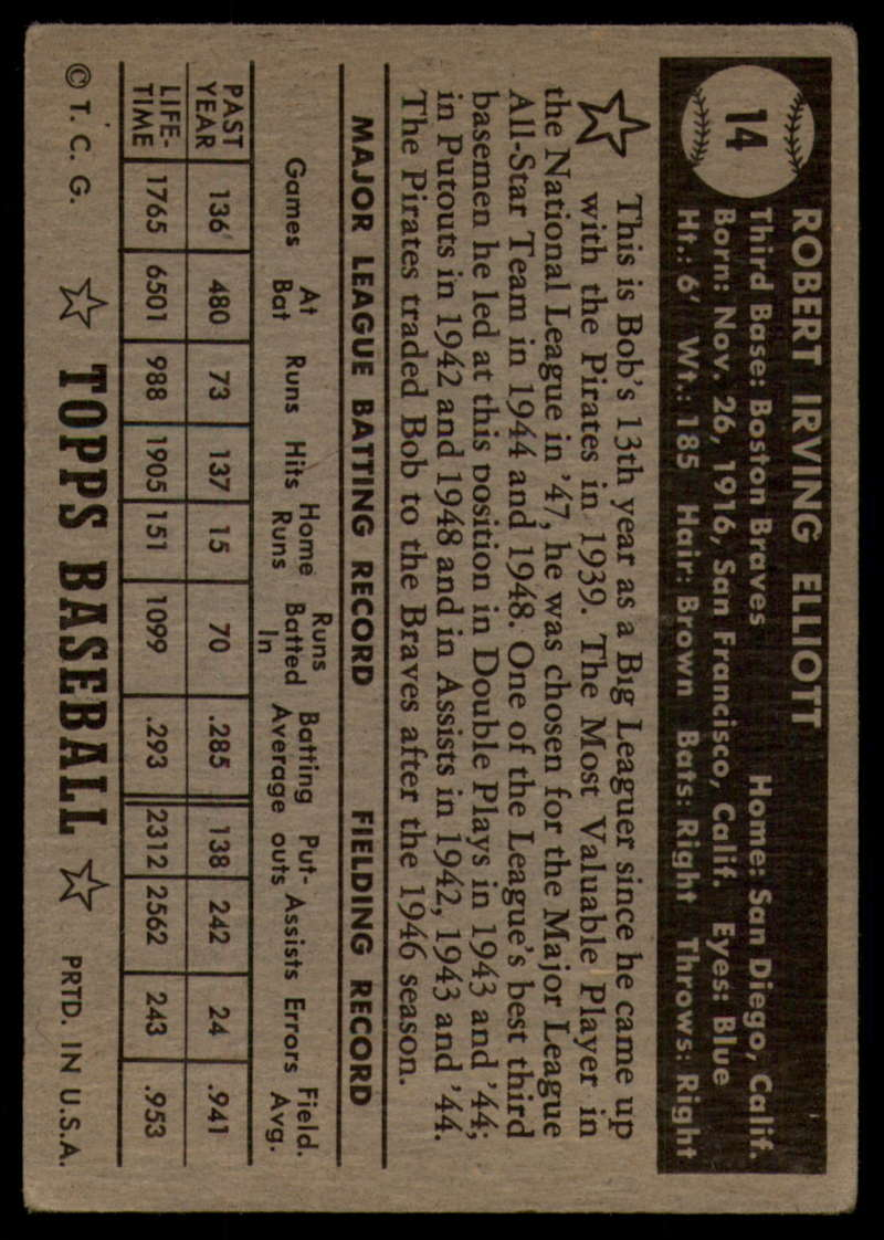 1952-Topps-Baseball-Black-Back-1-45-Complete-your-set-Pick-your-card thumbnail 71
