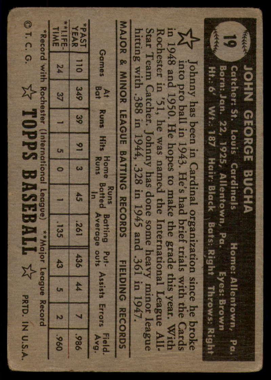 1952-Topps-Baseball-Black-Back-1-45-Complete-your-set-Pick-your-card thumbnail 97