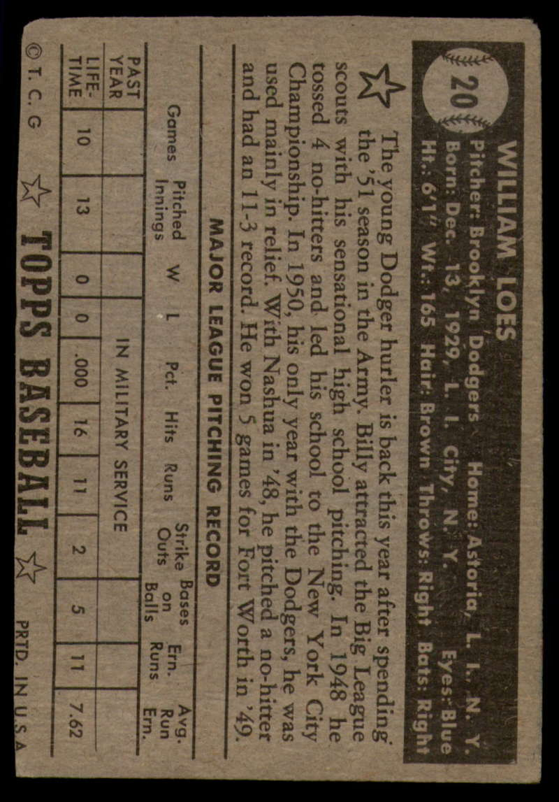 1952-Topps-Baseball-Black-Back-1-45-Complete-your-set-Pick-your-card thumbnail 103
