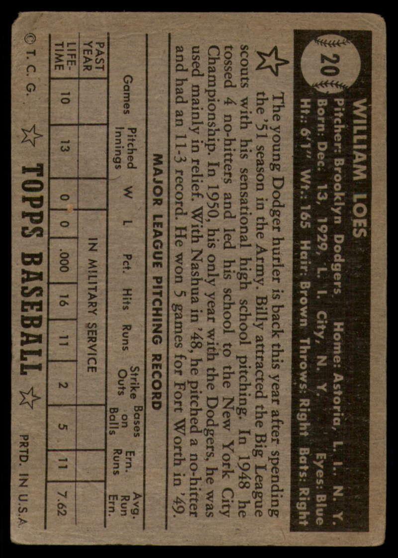 1952-Topps-Baseball-Black-Back-1-45-Complete-your-set-Pick-your-card thumbnail 105