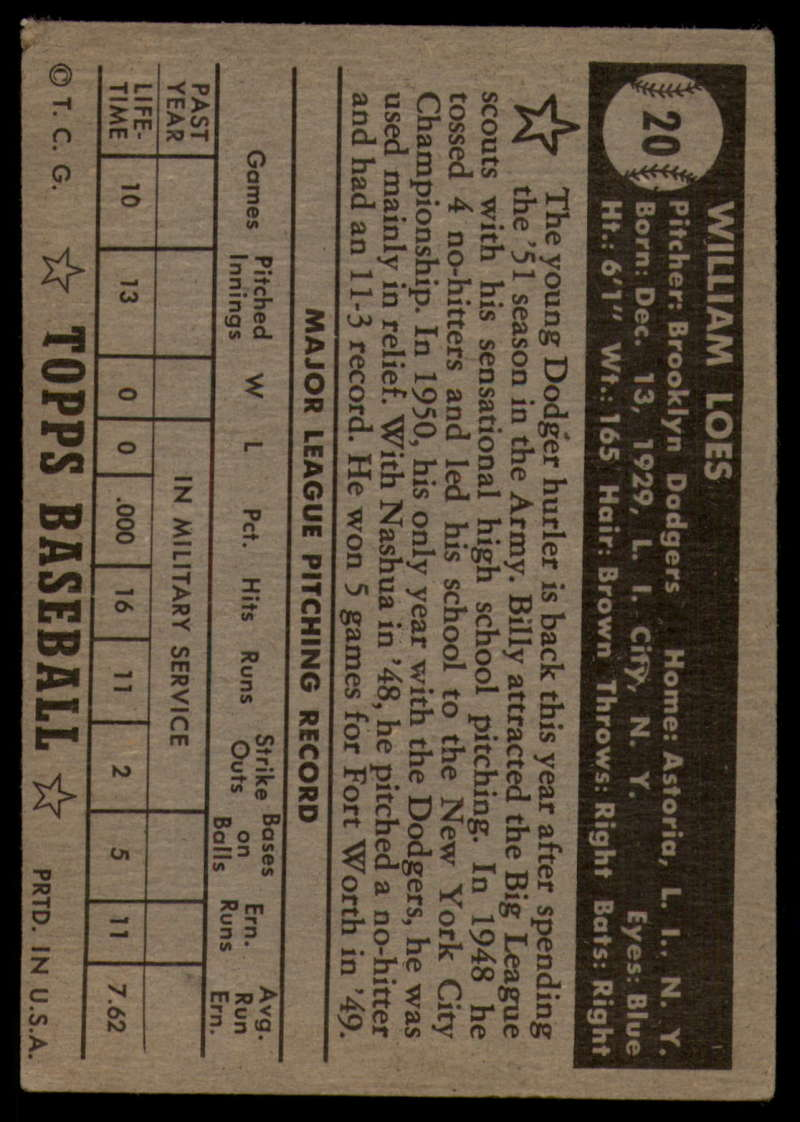 1952-Topps-Baseball-Black-Back-1-45-Complete-your-set-Pick-your-card thumbnail 107