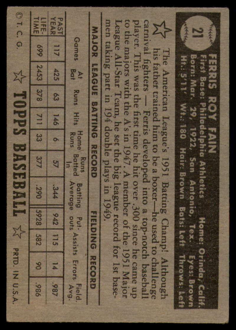 1952-Topps-Baseball-Black-Back-1-45-Complete-your-set-Pick-your-card thumbnail 115