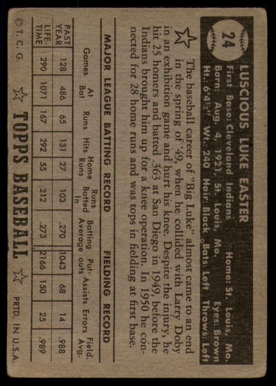 1952-Topps-Baseball-Black-Back-1-45-Complete-your-set-Pick-your-card thumbnail 123