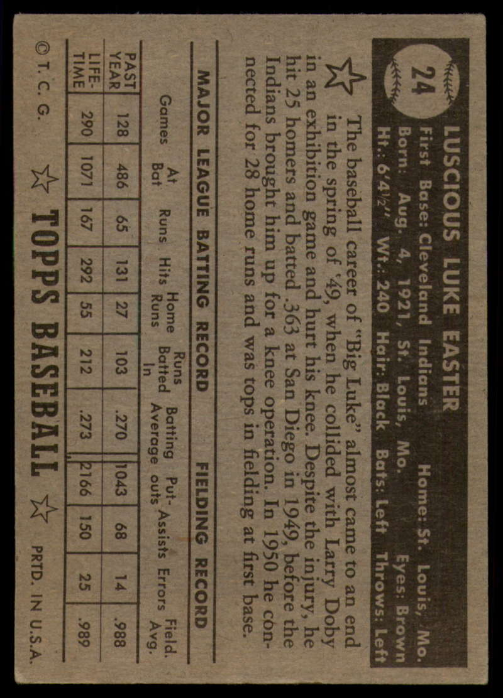 1952-Topps-Baseball-Black-Back-1-45-Complete-your-set-Pick-your-card thumbnail 127