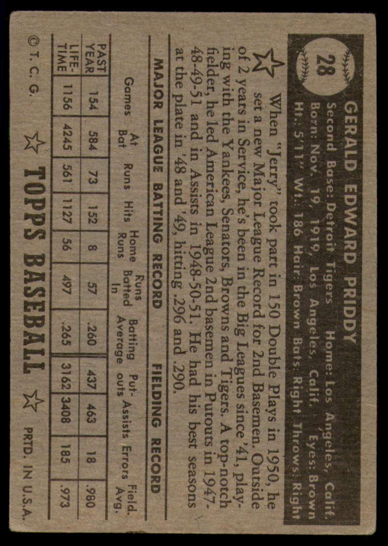 1952-Topps-Baseball-Black-Back-1-45-Complete-your-set-Pick-your-card thumbnail 145
