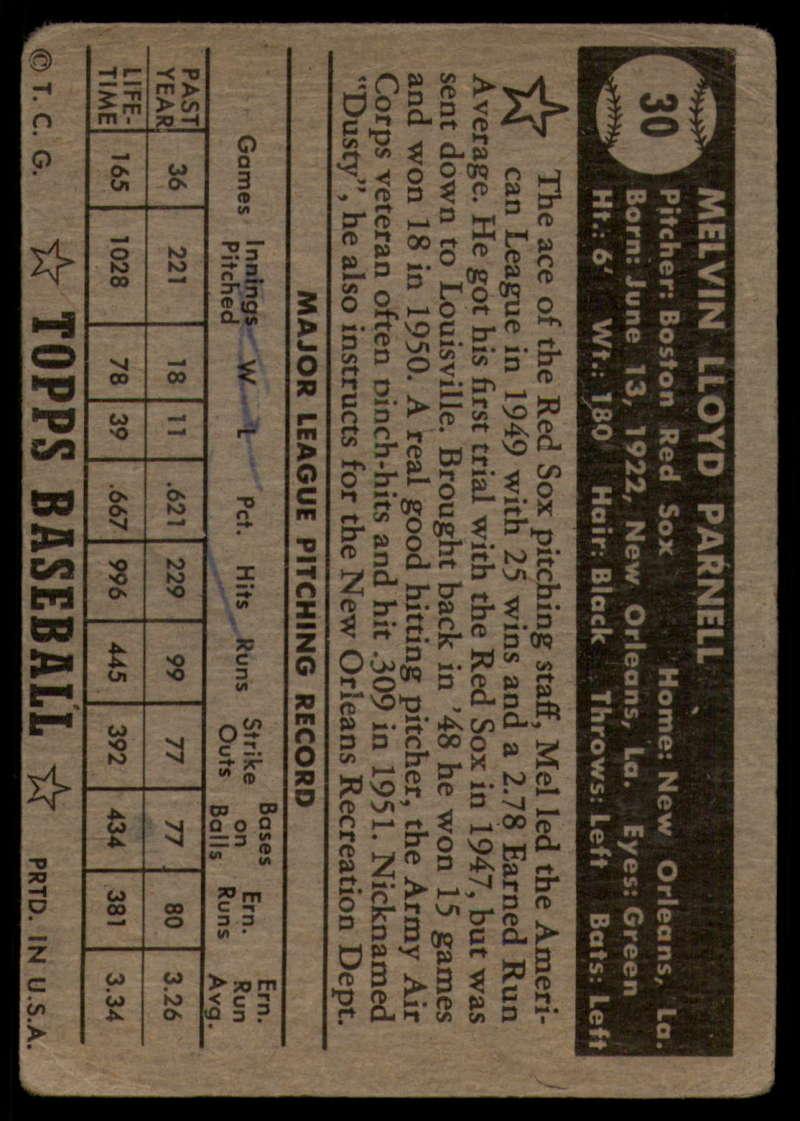 1952-Topps-Baseball-Black-Back-1-45-Complete-your-set-Pick-your-card thumbnail 159