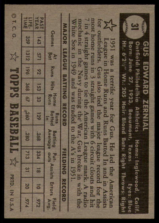 1952-Topps-Baseball-Black-Back-1-45-Complete-your-set-Pick-your-card thumbnail 161