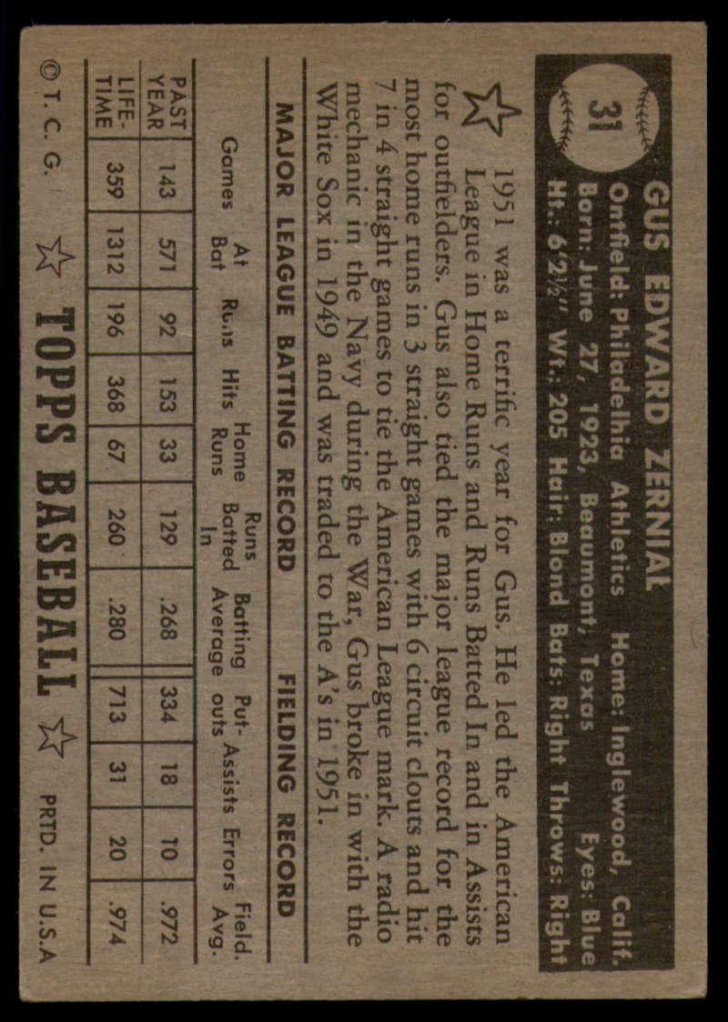 1952-Topps-Baseball-Black-Back-1-45-Complete-your-set-Pick-your-card thumbnail 163