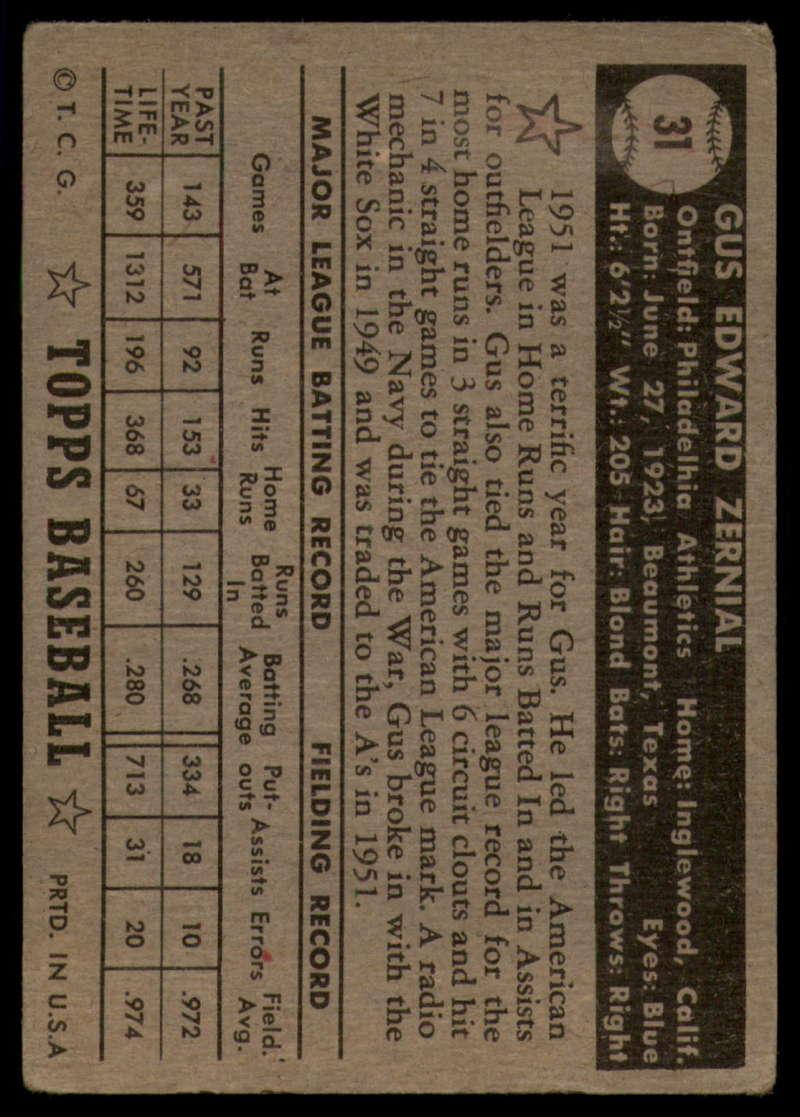 1952-Topps-Baseball-Black-Back-1-45-Complete-your-set-Pick-your-card thumbnail 165