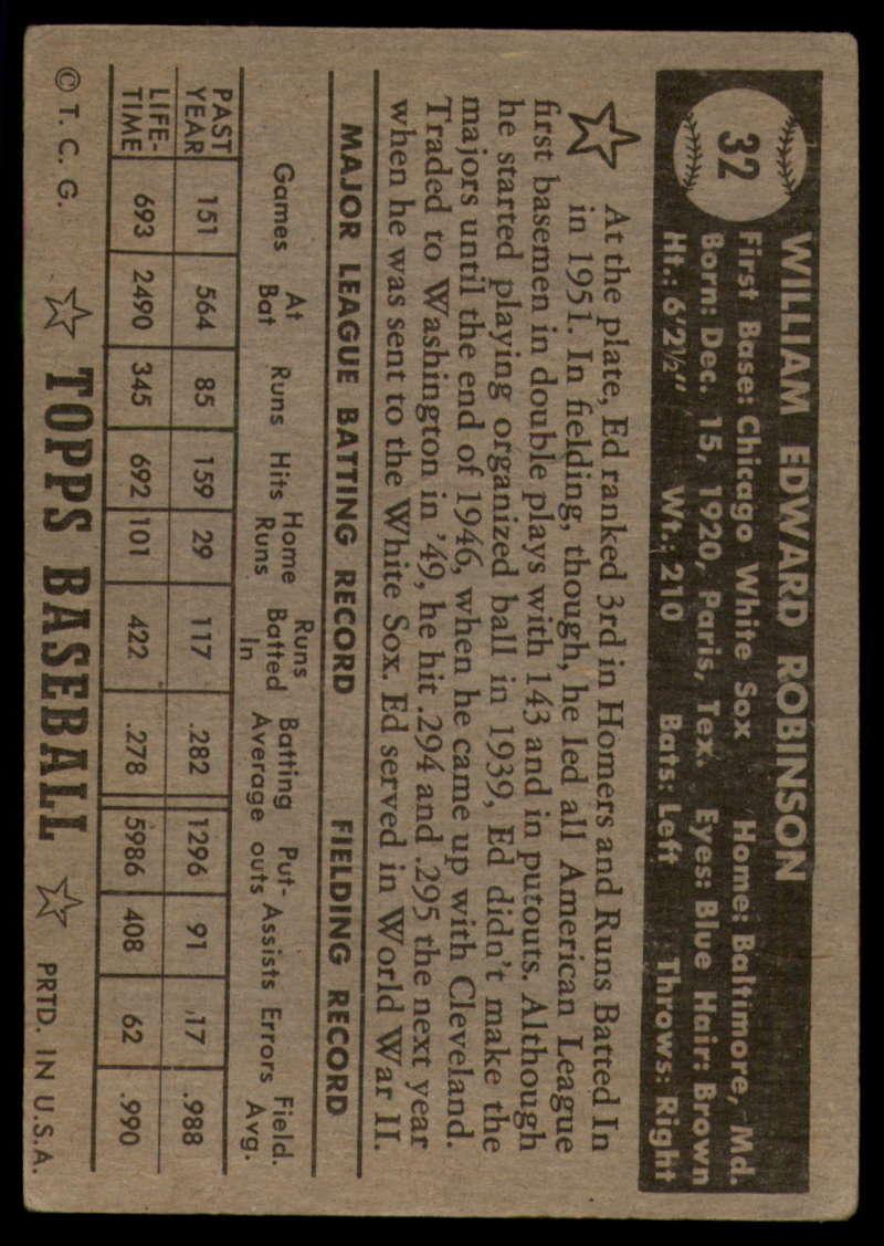 1952-Topps-Baseball-Black-Back-1-45-Complete-your-set-Pick-your-card thumbnail 167