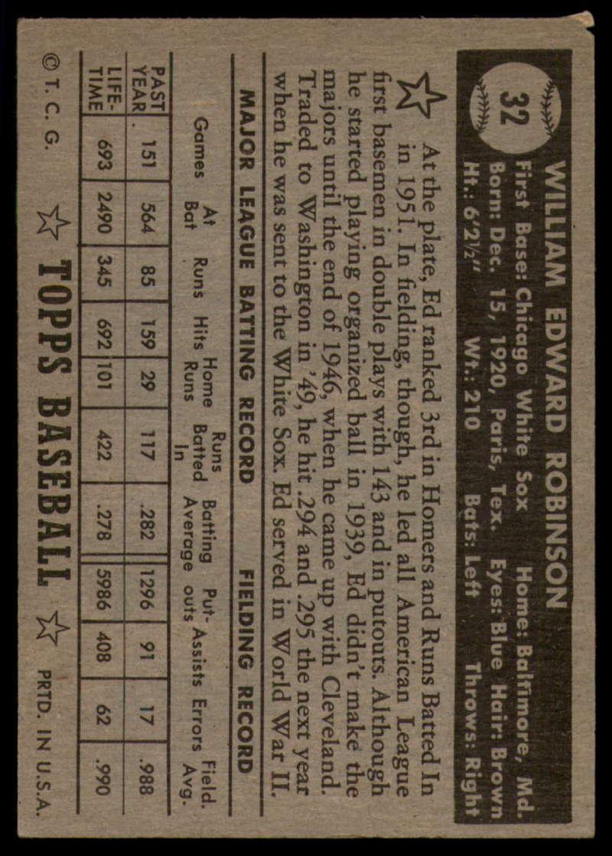 1952-Topps-Baseball-Black-Back-1-45-Complete-your-set-Pick-your-card thumbnail 173