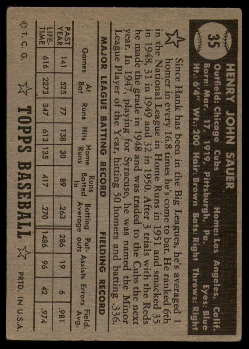 1952-Topps-Baseball-Black-Back-1-45-Complete-your-set-Pick-your-card thumbnail 215