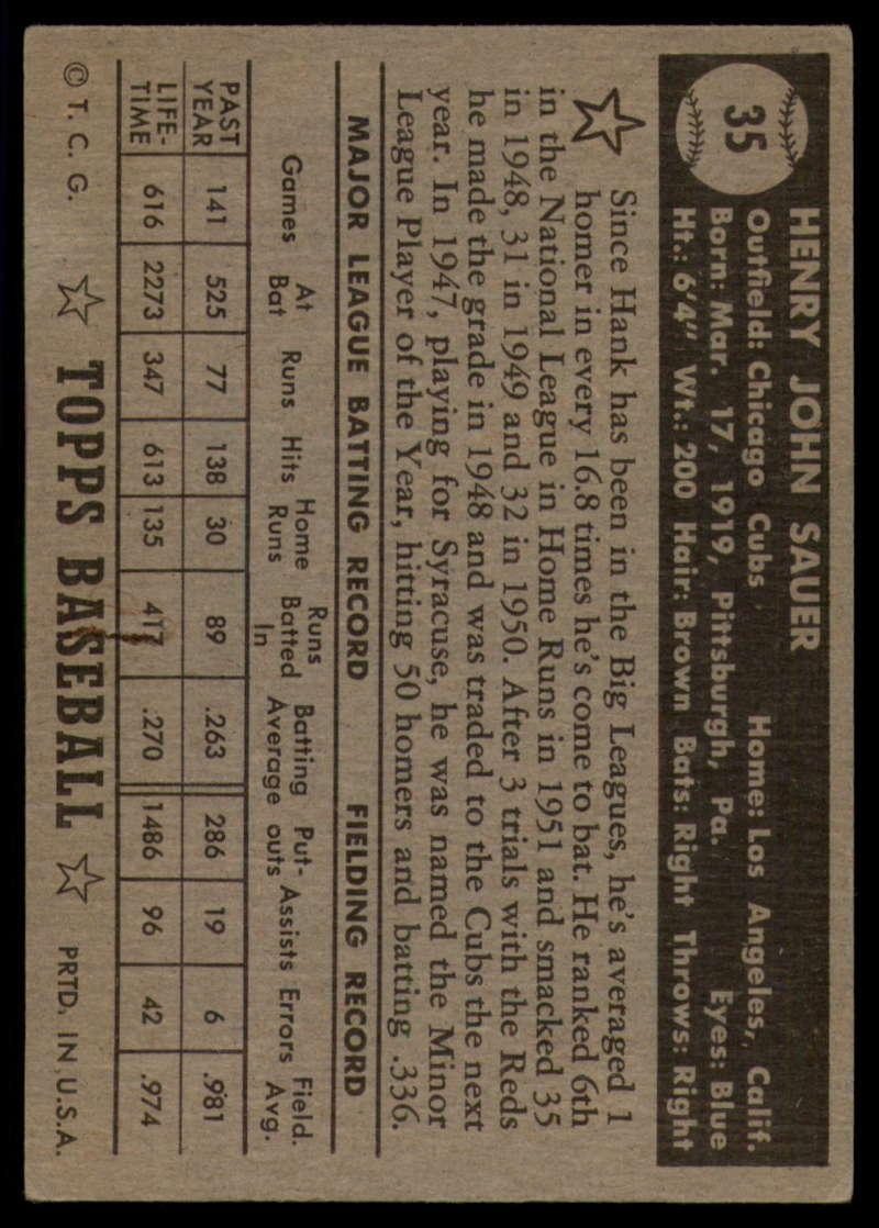 1952-Topps-Baseball-Black-Back-1-45-Complete-your-set-Pick-your-card thumbnail 217
