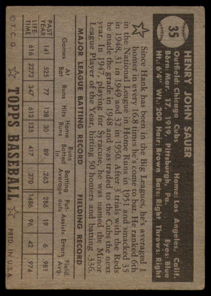 1952-Topps-Baseball-Black-Back-1-45-Complete-your-set-Pick-your-card thumbnail 219