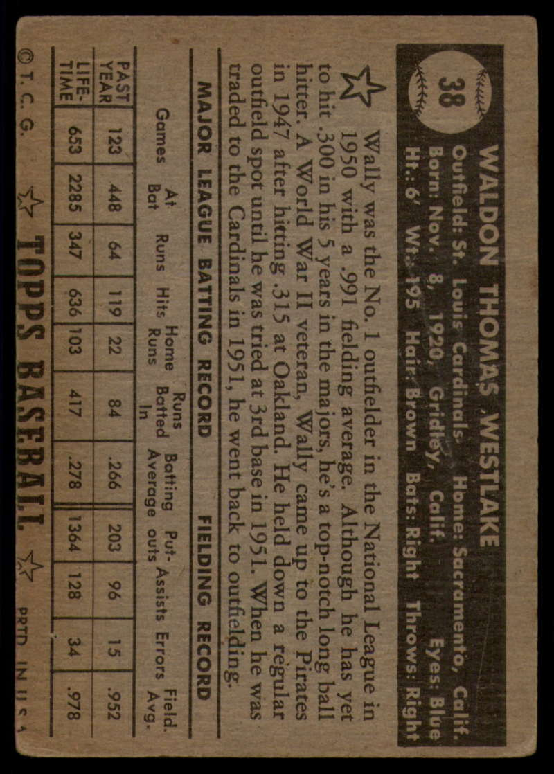 1952-Topps-Baseball-Black-Back-1-45-Complete-your-set-Pick-your-card thumbnail 237