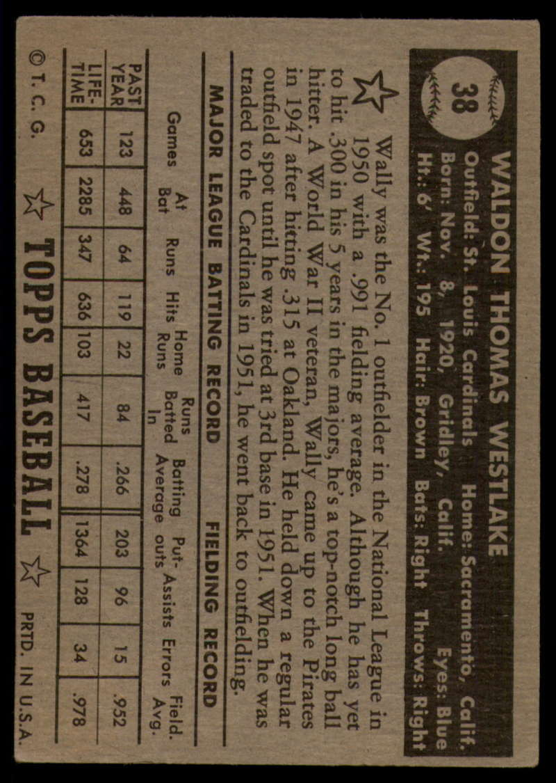 1952-Topps-Baseball-Black-Back-1-45-Complete-your-set-Pick-your-card thumbnail 241