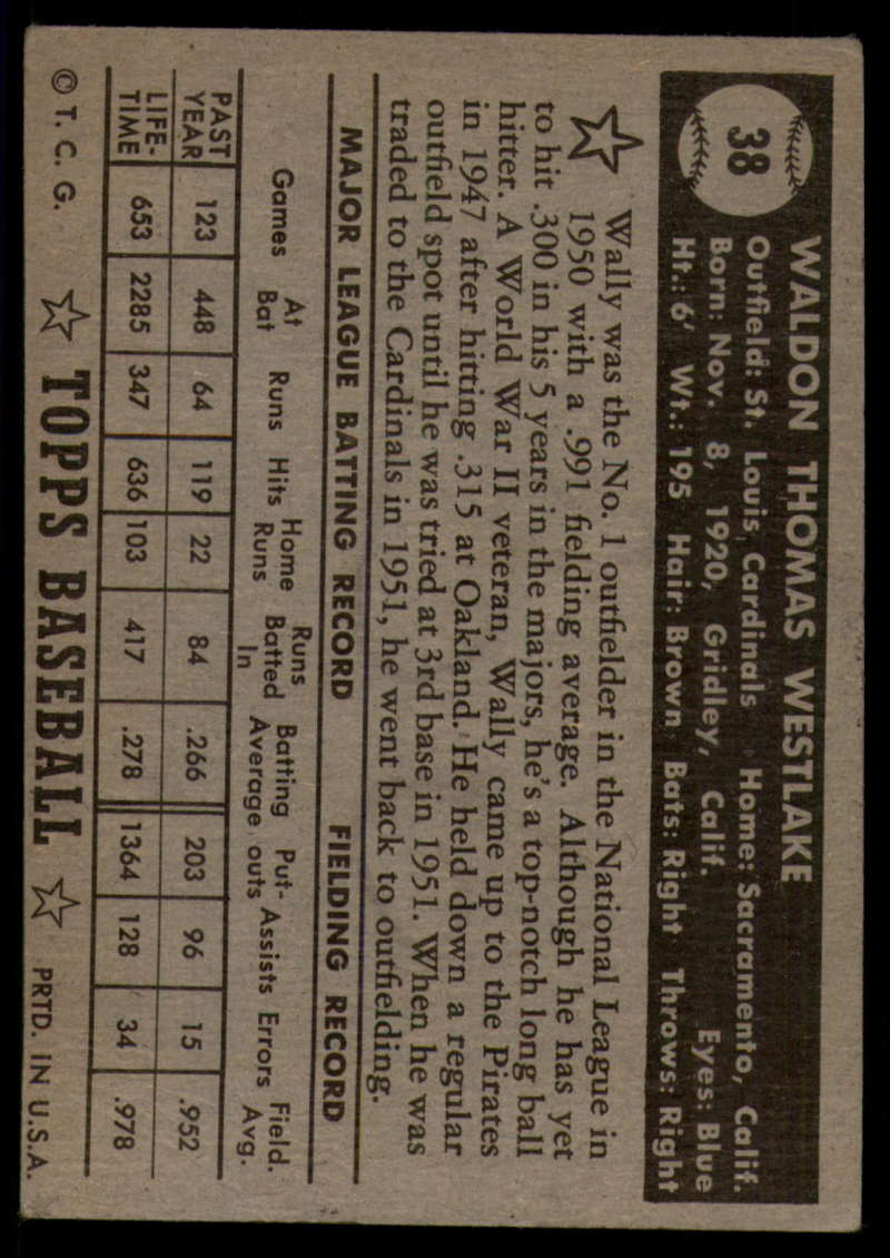 1952-Topps-Baseball-Black-Back-1-45-Complete-your-set-Pick-your-card thumbnail 243