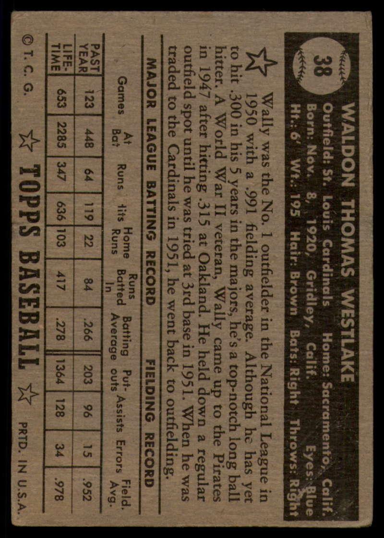 1952-Topps-Baseball-Black-Back-1-45-Complete-your-set-Pick-your-card thumbnail 249