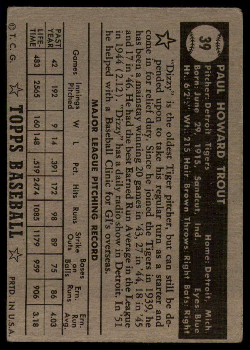 1952-Topps-Baseball-Black-Back-1-45-Complete-your-set-Pick-your-card thumbnail 255