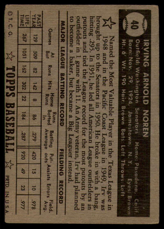 1952-Topps-Baseball-Black-Back-1-45-Complete-your-set-Pick-your-card thumbnail 261