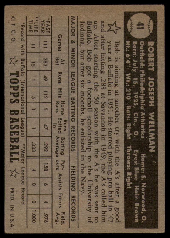 1952-Topps-Baseball-Black-Back-1-45-Complete-your-set-Pick-your-card thumbnail 269