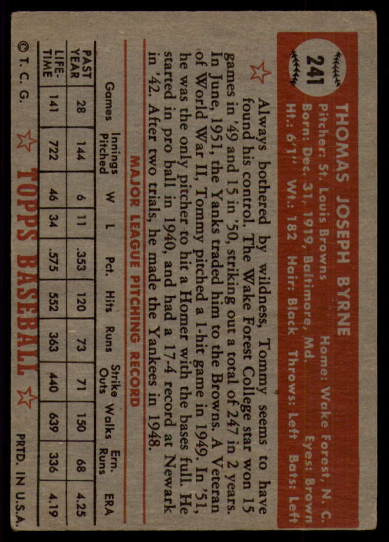 1952-Topps-Baseball-241-407-Complete-your-set-Pick-your-card thumbnail 3
