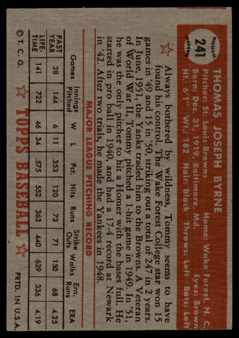 1952-Topps-Baseball-241-407-Complete-your-set-Pick-your-card thumbnail 5