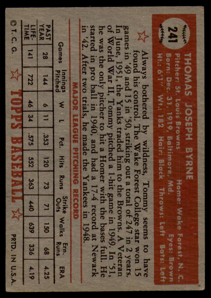1952-Topps-Baseball-241-407-Complete-your-set-Pick-your-card thumbnail 7