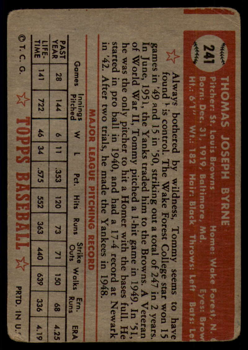 1952-Topps-Baseball-241-407-Complete-your-set-Pick-your-card thumbnail 9